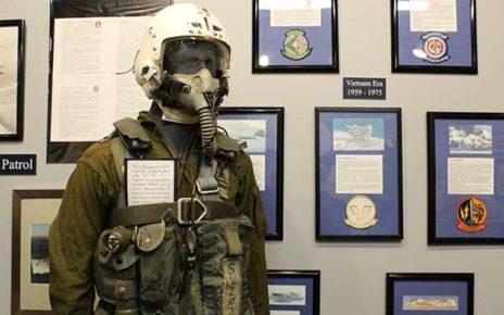 Maniquin in flight suit