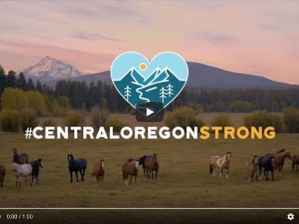 Central Oregon Strong message